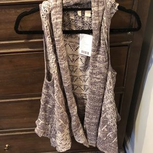 Sweater vest/cardigan from Anthropologie